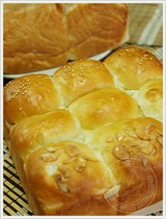 Roti Putih Madu Vanilla