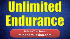 Hypnosis For Endless Endurance - Run Fast And Far - Never Get Tired - Wi...