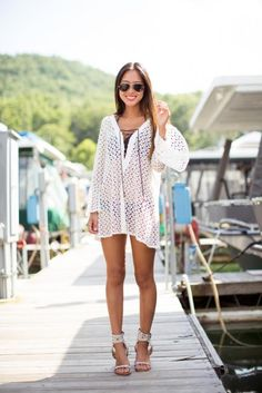 Swimsuit Coverups: 13 Trendy Ways to Cover Up at the Beach | Divine Caroline