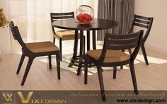 Round Table Contemporary Chair Fantastic Dining Room Sets