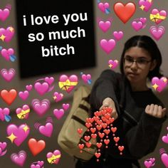 memes with hearts emojis \ memes with hearts Cute Love Memes, Funny Love, Dankest Memes, Funny Memes, Wholesome Pictures, Heart Meme, Heart Emoji, Snapchat Stickers, Neo Traditional Tattoo