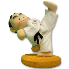 High Kicking Karate Figurine now available from www.karatemart.com/