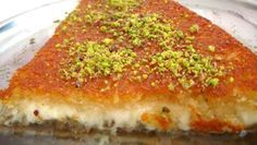 The platform where we share the best and most accurate recipes of Turkish sweets. Our goal is to deliver Turkish sweets to the whole world. Try new desserts with us Easy Lebanese Recipes, Lebanese Desserts, Turkish Recipes, Persian Recipes, Lebanese Cuisine, Arabic Dessert, Arabic Sweets, Arabic Food, Dessert Arabe