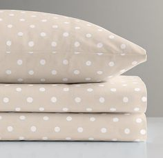 European pin dot crib fitted sheet $44 (this will tie in the creamy tone in the drapes beautifully!)