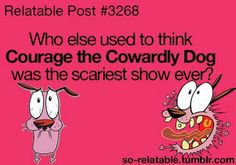 I'm not the only one! When I was 5 or 6, I watched one, ONE episode of it (the only episode I EVER watched), and I was terrified for weeks after.