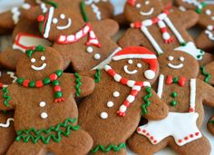 Ginger Spice to Shortbread: 15 Holiday Cookie Swap Recipes - Once Upon a Chef Holiday Cookie Recipes, Holiday Cookies, Holiday Treats, Cookies Receta, Gingerbread Man Cookies, Christmas Gingerbread Men, Gingerbread Houses, Gingerbread Men Icing, Vegan Gingerbread