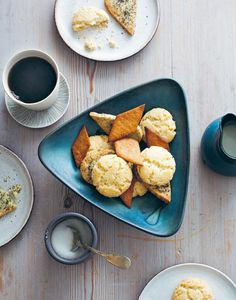 Lemon verbena & poppy seed cookies recipe from The New Nordic by Simon Bajada | Cooked