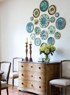 Decorating with Vintage Plates — DIY Plate Wall Ideas
