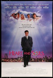 Heart And Souls Film. A businessman is reunited with the four lost souls who were his guardian angels during childhood, all with a particular purpose to joining the afterlife.