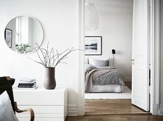 Follow our Instagram! https://www.instagram.com/minimal.interiors.designs/ Source: addictedtoarchitecture http://addictedtoarchitecture.tumblr.com/post/158266326749/clean-airy-scandinavian-bedroom-with-beige-throw