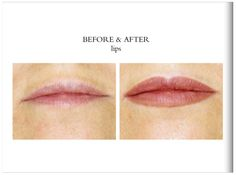 cosmetic tattooing - lips  #permanentmakeup   foolingmothernature.com