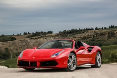 Up next, The Ferrari 488 Spider.  The 488 Spider destroys every other car on this list in terms of outright performance.The 3.9-liter twin-turbocharged V8 churns 661 bhp and 560 lb ft of torque and just won engine of the year. It is arguably the best turbocharged engine ever made.   The stunning drop-top version of the 488 GTB can sprint to 60 mph in about 3-second and hit a 205 mph top speed. Ferrari has produced another masterpiece with the 488 Spider.