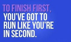 Are You 1st or 2nd?