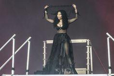 Nicki Minaj Was 2 Hours Late To Her Wireless Festival Set Nicki Minaj  #NickiMinaj