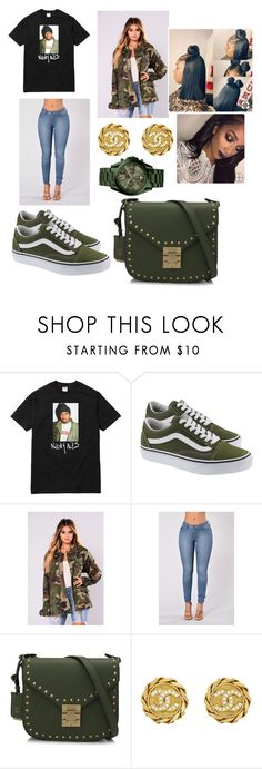 """""""Untitled #400"""" by askariwilson ❤ liked on Polyvore featuring Vans, Misbehave, MCM, Chanel and Michael Kors"""