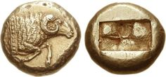 G112 A Rare and Important Greek Electrum Stater of Maroneia (?) (Thrace), the Finest of Two Known and Among the Finest of All Electrum Greek Coins | by Ancient Art