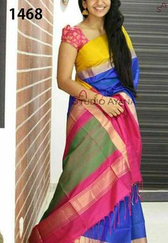 8507c51827 Zarna silk saree with blouse ..slect ant multiple si glws available..ready