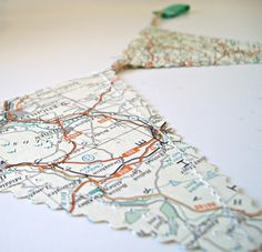 travel themed wedding party- maps of all the places you and your lover have been to together :)