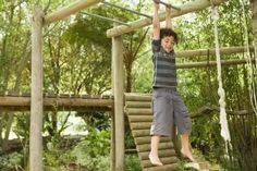 How to Make a Cheap Backyard Playground
