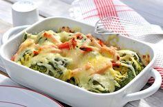 Brokolice zapečená se sýrem a šunkou Cauliflower, Macaroni And Cheese, Vegan, Vegetables, Ethnic Recipes, Food, Diet, Mac And Cheese, Cauliflowers