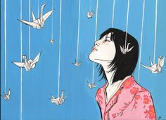 sadako and her cranes