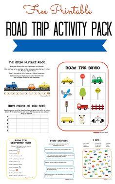10 juegos y actividades para llevar en viajes con niños