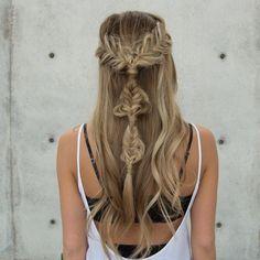 Perfect boho hair!