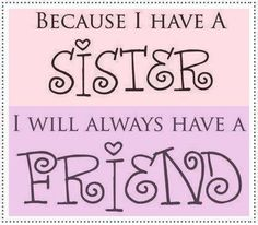 best sister quotes - Google Search