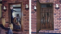 One of the most reliable ways of stopping burglars from getting into your safe is to simply hide it. Wall safes hidden behind a mirror allow you to do that. Wall Safe, Basement, Mirror, House, Home Decor, Root Cellar, Decoration Home, Home, Room Decor