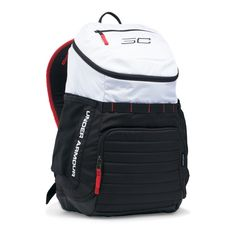 The Under Armour Undeniable Backpack is a ball bag that is one of a number of signature items that is developed for used by Steph Curry of the Golden State Warriors. Being the face of the brand… Backpack Online, Men's Backpack, Leather Backpack, Cute Backpacks For School, Mens Gym Bag, Under Armour Backpack, Backpack Pattern, Backpack Reviews, Designer Backpacks