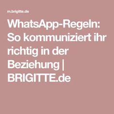 WhatsApp-Regeln: So kommuniziert ihr richtig in der Beziehung   BRIGITTE.de