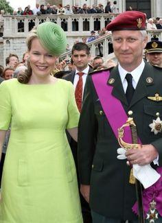 Princess Mathilde, July 21, 2008