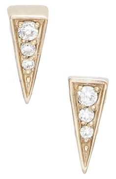 Mini Pyramid earrings