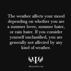 psychology of weather on mood.