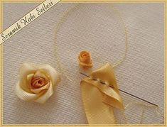 Wonderful Ribbon Embroidery Flowers by Hand Ideas. Enchanting Ribbon Embroidery Flowers by Hand Ideas. Ribbon Embroidery Tutorial, Silk Ribbon Embroidery, Embroidery Stitches, Embroidery Patterns, Hand Embroidery, Rose Patterns, Embroidery Books, Embroidery Store, Advanced Embroidery