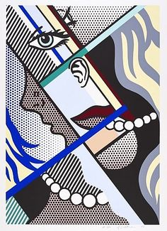 'Modern Art I' (1996) by Roy Lichtenstein