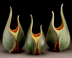 Boddha Pods by ceramic artist Andy Rogers-