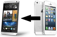 HTC One will be able to import data from iphone backups