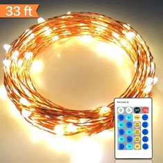 Christmas lights amazlab t1w10 10 meter33feet soft copper wire find this pin and more on diy do it yourself today zdatt outdoor led christmas string lights solutioingenieria Images