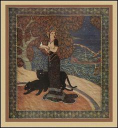 Circe, The Enchantress, By Edmund Dulac