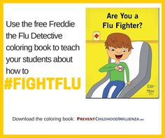 Download The Free Are You A Flu Fighter Coloring Book Available In English