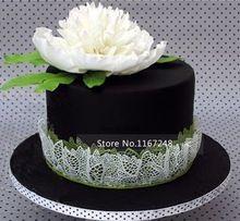 40cm*20cm Large Size Silicone Mats Fondant Cake Tools Silicone Cake Mold Lace…