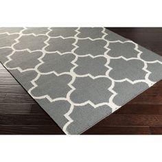 Artistic Weavers York Charcoal Geometric Mallory Area Rug & Reviews   Wayfair