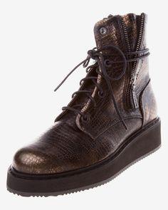Femei ghete pe gleznă | Bibloo.ro Combat Boots, Army, Shoes, Fashion, Gi Joe, Moda, Zapatos, Military, Shoes Outlet