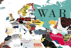This Literature Map of the World Shows You Every Country's Favourite Book