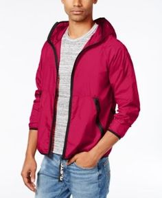G-Star Raw Men's Strett Convertible Gymbag Windbreaker - Pink XXL
