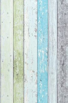 $30.06 Price per roll (per m2 $5.64), Novelty wallpaper, Carrier material: Non-woven wallpaper, Surface: Fine structure, Vinyl, Look: Matt, Design: Old wooden boards, Basic colour: Cream, Light yellow green, Light grey, Pastel turquoise, Pattern colour: Cream, Light yellow green, Light grey, Pastel turquoise, Characteristics: Good lightfastness, Scrub-resistant, Low flammability, Strippable, Paste the wall