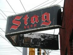 Stag Beer - B.J.'s Bar in Florissant