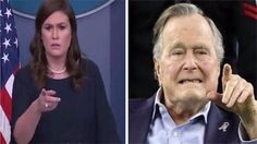 """Former president George H.W. Bush had some rather harsh things to say about the current President Trump and his administration is his upcoming book """"The Last Republicans."""" And conservatives are not happy. """"I don't like him.""""""""I"""