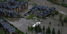 El Pirineo de Huesca, de nuevo inundado